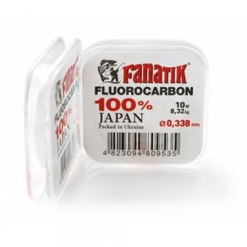 леска флюорокарбоновая fanatik 10м