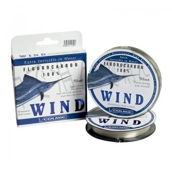 леска флюорокарбоновая colmic wind (кureha) 50м
