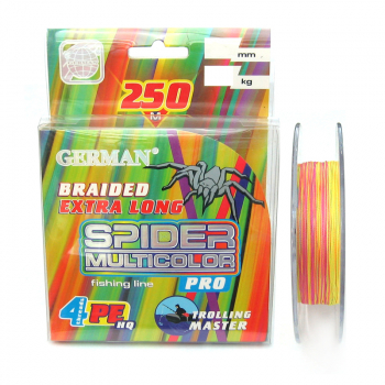 German Spider Multicolor x4 250м