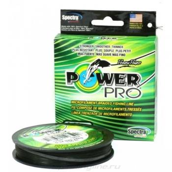 плетеный шнур power pro moss green 275м