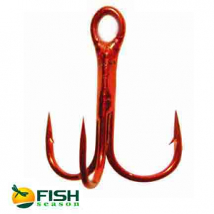 Тройной крючок Fish Season 11030RD
