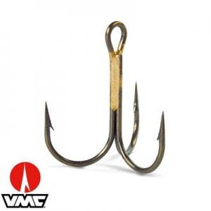 Тройной крючок VMC Predator Carnassiers Round-Rond 9649BZ
