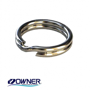 Заводные кольца Owner Split Ring Fine Wire 52804